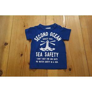 【メール便送料無料】【セール1,728円⇒】JEANS-b(ジーンズベー) SEA-SAFETY灯台Tシャツ|tanpopokids