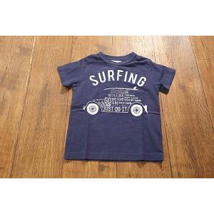 【セール/30%OFF】JEANS-b ジーンズベー SURFINGロゴ車Tシャツ 子供服 メール便送料無料 18'春夏新作|tanpopokids
