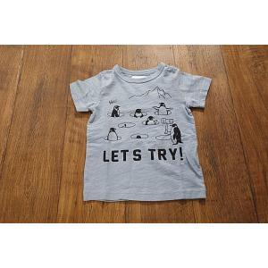 【セール/30%OFF】JEANS-b ジーンズベー ペンギンもぐらたたきTシャツ 子供服 メール便送料無料 18'春夏新作|tanpopokids
