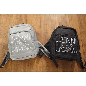 【セール/10%OFF】JENNI ジェニィ ALL-SASSY-GIRLSロゴリュック 子供服 メール便不可 18'春夏新作|tanpopokids