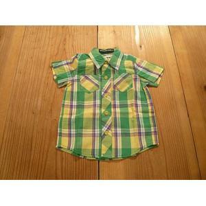 【セール2,160円⇒】LITTLE BEAR CLUB(リトルベアクラブ) 薄手チェック半そでシャツ|tanpopokids