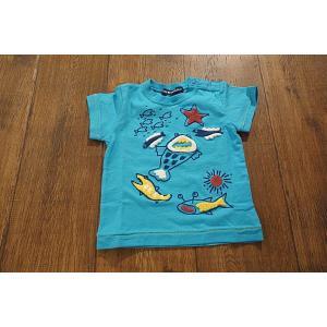 LITTLE BEAR CLUB リトルベアクラブ 海の生き物モコモコTシャツ 子供服 メール便送料無料 18'春夏新作|tanpopokids