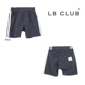 【セール/30%OFF】21'夏新作 LITTLE BEAR CLUB リトルベアクラブ サイド2ラインカットハーフパンツ 子供服 メール便送料無料対象外(160円)|tanpopokids