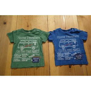 【メール便送料無料】【セール1,836円⇒】OFFICIAL TEAM(オフィシャルチーム) Home-travellersワゴンTシャツ|tanpopokids