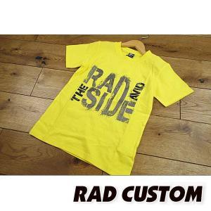 19'夏新作 RAD CUSTOM ラッドカスタム THE-RADSIDE-AVIDロゴTシャツ 子供服 メール便送料無料|tanpopokids