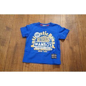 【セール2,052円⇒】WAMWAM ワムワム $86ブロックptTシャツ 子供服 メール便OK 17'春夏新作|tanpopokids