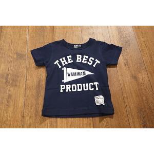 WAMWAM ワムワム THE-BESTフラッグTシャツ 子供服 メール便送料無料 18'春夏新作|tanpopokids