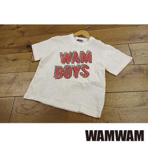 【セール/10%OFF】19'春新作 WAMWAM ワムワム WAMBOYS重ねロゴptTシャツ 子供服 メール便送料無料|tanpopokids