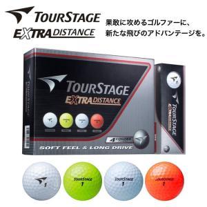 新品 ツアーステージ EXTRA DISTANCE 4色アソートパック 1ダース (12個入) 正規...