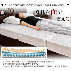 マットレス シングル ボンネルコイルマットレス 三つ折りボンネルコイルマットレス ベッド 高密度コイル330個 圧縮梱包 ベッドマット スプリングマット|tansu|06