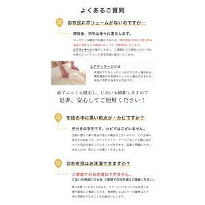 羽毛布団 羽毛ふとん シングル 掛け布団 羽毛掛布団 日本製 ホワイトダックダウン93% 7年保証 羽毛 布団 抗菌 防臭 羽毛掛け布団 CILゴールドラベル|tansu|19