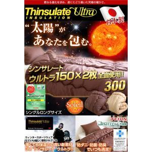 掛布団 掛け布団 シングル シンサレート ウルトラ 150 2枚 全面使用 日本製 帝人マイティトップ 防ダニ 抗菌 防臭 国産|tansu|02