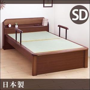 【送料無料】 畳ベッド たたみベッド セミダブル 国産 セミダブルベッド 日本製|tansu