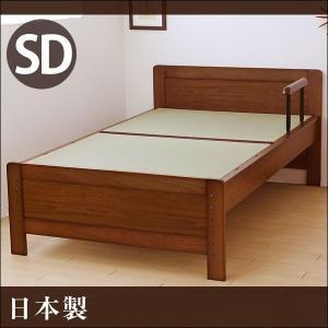【送料無料】 畳ベッド セミダブル たたみベッド 畳ベット セミダブルベッド|tansu