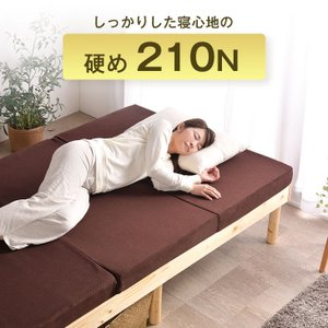 20時〜4時間限定P5倍 マットレス シングル 高反発マットレス  三つ折り 高密度30D 折りたたみマットレス 10cm ベッドマットレス 210N 洗える|tansu|05