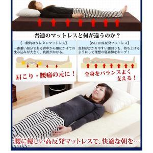 マットレス シングル 高反発マットレス 超極厚 20cm 30D 180N 寝具 洗える カバー ベットマット|tansu|06