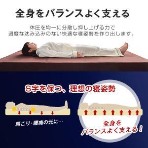 マットレス 高反発マットレス シングル 10cm 175N ウレタンマットレス マット 高反発 洗える カバー ベッド用 ノンスプリング プロファイル 高反発ウレタン|tansu|10