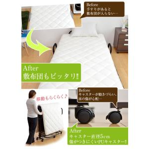 折りたたみベッド すのこベッド 折り畳みベッド...の詳細画像5