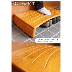 玄関踏み台 脚立、踏み台 幅60cm 木製 おしゃれ 天然木 子供 キッズ 玄関台 介護 玄関ステップ ステップ 階段|tansu|04