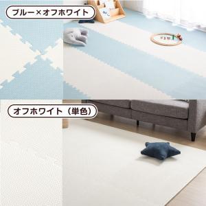 ジョイントマット 大判 プレイマット 60cm 32枚セット 6畳 厚手 大判ジョイントマット サイドパーツ付 床暖房対応 赤ちゃん 防音対策 フロアマット|tansu|14