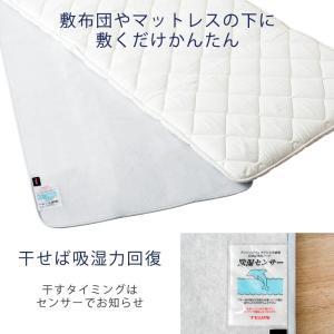 除湿シート 湿気取りマット 除湿マット シングル 日本製 除湿 シート 帝人 ベルオアシス 吸湿マット 湿気対策|tansu|02