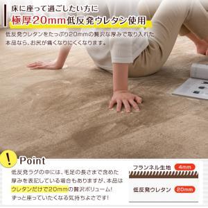 ラグ マット ラグマット おしゃれ 長方形 3畳 夏用 カーペット 厚手 夏 防ダニ|tansu|05