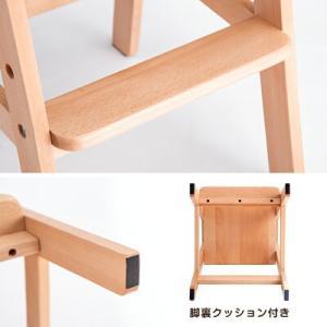 ベビーチェア ベビーチェアー ハイタイプ ハイチェア 木製 キッズチェア ベビー チェア 高さ調節 おしゃれ tansu 09