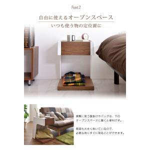 テーブル サイドテーブル サイド テーブル ソファ ベッド 木 サイドチェスト ベッドサイドチェスト ベッドサイドテーブル 北欧 スリム 木製 正方形 おしゃれ tansu 05