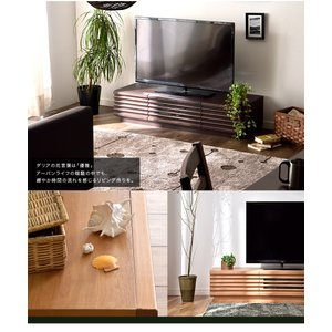 テレビ台 テレビボード 国産 完成品 ローボー...の詳細画像1