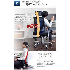オフィスチェア チェア ロッキング パソコンチェア デスクチェア メッシュチェア ハイバックチェア デスクチェア チェア チェアー 椅子 tansu 04