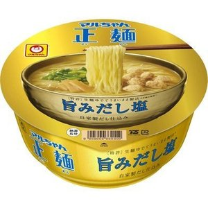 東洋水産 E478664H 【ケース販売】マルちゃん正麺 カップ 旨みだし塩 103g×12個