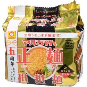 東洋水産 E479328H 【ケース販売】マルちゃん正麺 担担麺 112g×5食×6個