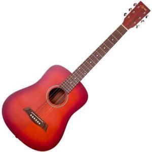 SYAIRI 4534853040112 Compact Acoustic Series ミニアコースティックギター YM-02/CS チェリーサンバースト ソフトケース付属|tantan
