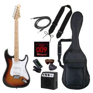 LIGHT 4534853537247 PhotoGenic エレキギター ストラトキャスタータイプ ST-180M/SB サンバースト メイプル指板 tantan
