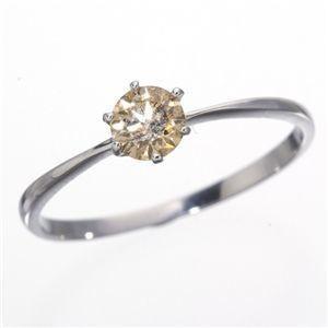 <title>ds-160345 K18WG ホワイトゴールド 0.25ctライトブラウンダイヤリング 指輪 183828 11号 大規模セール ds160345</title>