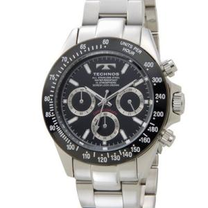 Technos テクノス TSM401TB クロノグラフメンズ腕時計|tantan