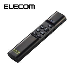 エレコム M-VRA01BK Bluetoothリモコン/90度補正機能付/ジャイロセンサー/ブラック|tantan
