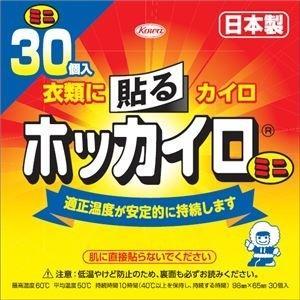 ds-2004480 (まとめ)興和新薬 ホッカイロ 貼るミニ30個 【×3点セット】 (ds200...