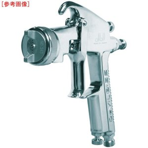 ●ガン手元圧力0.2MPaと中圧仕様で、高微粒化、高塗着効率のタイプです