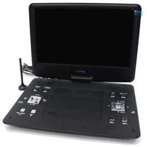 AKART HTA-PD13FS 13.3インチ地デジフルセグ対応DVDプレーヤー (HTAPD13FS) tantan