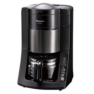 パナソニック NC-A57-K 「デカフェ豆」コース搭載の沸騰浄水コーヒーメーカー (ブラック) (NCA57K) (NCA57K)|tantan