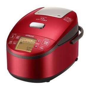 日立 RZ-AV100M-R 5.5合炊き 「圧力スチーム炊き ふっくら御膳」(メタリックレッド) (RZAV100MR)|tantan