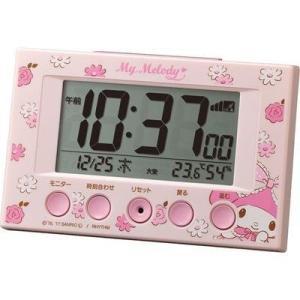 リズム時計 8RZ166MY13 サンリオ マイメロディR166(ピンク)|tantan
