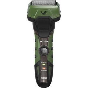マクセルイズミ IZF-V758-G-EA 4枚刃 往復式シェーバー 高防水設計+しっかり剃れる。泡剃りに最適な4枚刃 (IZFV758GEA)|tantan