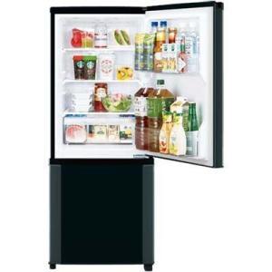 三菱電機 MR-P15D-B 146L Pシリーズ 2ドア冷蔵庫 (サファイアブラック) (MRP15DB)|tantan