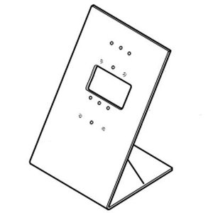 [アイホン]テレビドアホン卓上スタンド(MY-2CD・MYH-2CD用) MCW-S|tantan