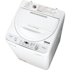【納期目安:約10営業日】シャープ ES-GE5C-W 5.5kg全自動洗濯機 (ESGE5CW)|tantan