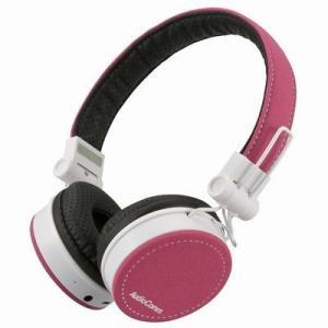 オーム電機 HP-WBT200Z-P AudioComm Bluetoothステレオヘッドホン(ピンク) (HPWBT200ZP)|tantan