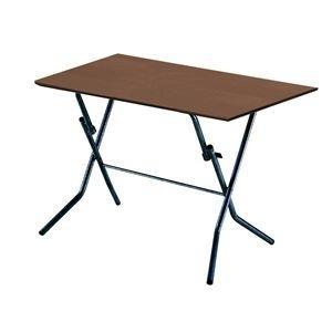 <title>ds-2154584 折りたたみテーブル 幅90cm ダークブラウン×ブラック 日本製 木製 最安値挑戦 スチールパイプ 代引不可 ds2154584</title>