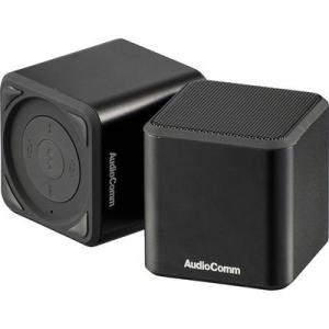オーム電機 ASP-W400N-K Bluetoothスピーカー (ASPW400NK)|tantan